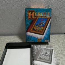 Videojuegos y Consolas: ANTIGUA CAJA DE JUEGO PC. HEROES. NO CONTIENE JUEGO. Lote 259298410