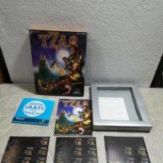 Videojuegos y Consolas: ANTIGUA CAJA DE JUEGO PC. TZAR. NO CONTIENE JUEGO. Lote 259300155