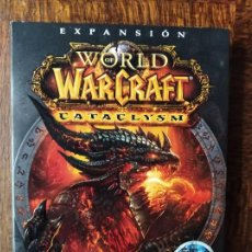 Videojuegos y Consolas: WORLD OF WARCRAFT - EXPANSION: CATACLYSM - DVD ROM - PAL ESPAÑA - CAJA DE CARTON. Lote 259313215