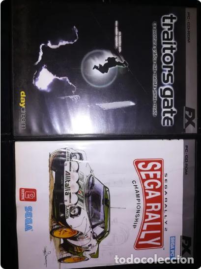 LOTE JUEGOS VIEJOS PC: TRAITORTS GATE, SEGA RALLY, CAESAR II,FIFA 2005, URGENCIAS, AGE OF EMPIRES II (Juguetes - Videojuegos y Consolas - PC)
