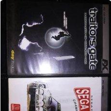 Videogiochi e Consoli: LOTE JUEGOS VIEJOS PC: TRAITORTS GATE, SEGA RALLY, CAESAR II,FIFA 2005, URGENCIAS, AGE OF EMPIRES II. Lote 259835355