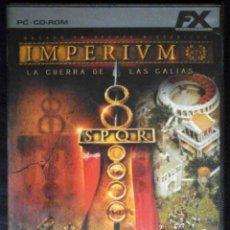 Videojuegos y Consolas: FX - IMPERIUM LA GUERRA DE LAS GALIAS - JUEGO INTERACTIVO. Lote 261277165