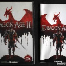 Videojuegos y Consolas: PC: DRAGON AGE II - JUEGO COMPLETO CON MANUAL. Lote 261306045