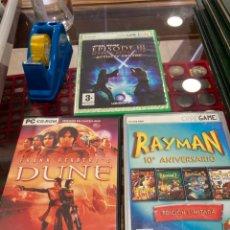 Videojuegos y Consolas: LOTE DE 3 JUEGOS DE PC. Lote 261698090