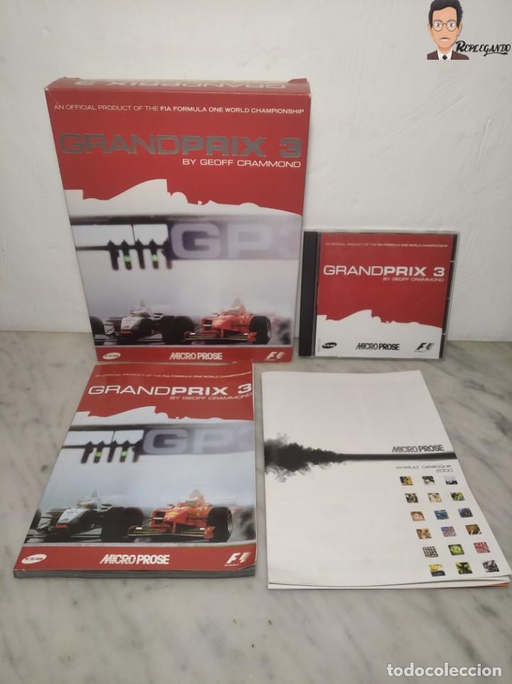 GRAND PRIX 3 - JUEGO DE CHOCHES FÓRMULA 1 (F 1) PARA PC (ORDENADOR) CON CAJA Y MANUALES (Juguetes - Videojuegos y Consolas - PC)