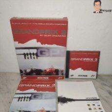 Videojuegos y Consolas: GRAND PRIX 3 - JUEGO DE CHOCHES FÓRMULA 1 (F 1) PARA PC (ORDENADOR) CON CAJA Y MANUALES. Lote 261854435