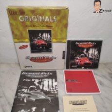 Videojuegos y Consolas: GRAND PRIX LEGENDS (1998) JUEGO PARA PC (ORDENADOR) CON CAJA Y MANUAL (SIERRA) F 1 COCHES CLÁSICOS. Lote 261856475