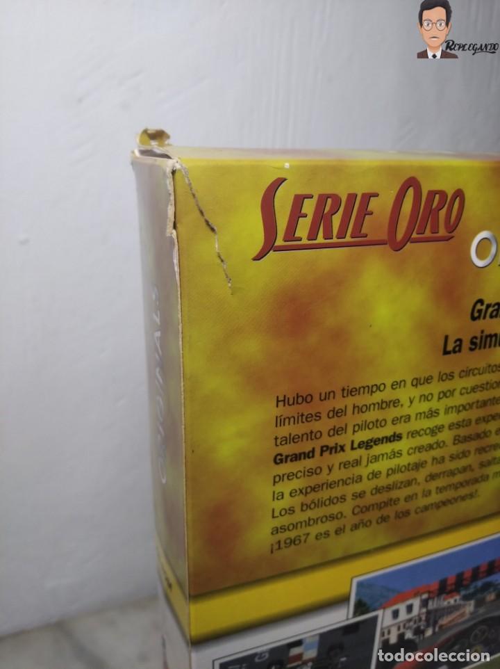 Videojuegos y Consolas: GRAND PRIX LEGENDS (1998) JUEGO PARA PC (ORDENADOR) CON CAJA Y MANUAL (SIERRA) F 1 COCHES CLÁSICOS - Foto 17 - 261856475
