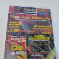 Videojuegos y Consolas: REVISTA INFORMÁTICA PC CDWARE N° 15 + 2 CD GUÍAS TURÍSTICAS DE GALICIA Y CLIPARTS DE MEDIACLIP. Lote 262310585