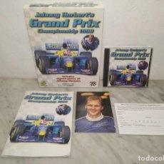 Videojuegos y Consolas: GRAND PRIX CHAMPIONSHIP - JOHNNY HERBERT´S (1998) JUEGO PARA PC (ORDENADOR) CON CAJA Y MANUAL. Lote 262729850