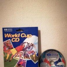 Videojuegos y Consolas: CD ROM ORIGINAL - WORLD CUP 1998 CD INTERACTIVO - HEWLETT PACKARD. Lote 262823920