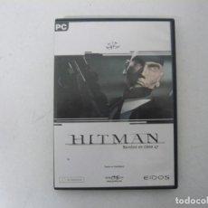 Videojuegos y Consolas: HITMAN / CAJA DVD / IBM PC / RETRO VINTAGE / CD - DVD. Lote 262928675