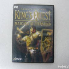Videojuegos y Consolas: KING'S QUEST - MASCARA ETERNIDAD / CAJA DVD / IBM PC / RETRO VINTAGE / CD - DVD. Lote 262928790
