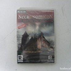 Videojuegos y Consolas: NECRONOMICON - NUEVO / CAJA DVD / IBM PC / RETRO VINTAGE / CD - DVD. Lote 262930560