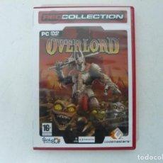 Videojuegos y Consolas: OVERLORD / CAJA DVD / IBM PC / RETRO VINTAGE / CD - DVD. Lote 262931030