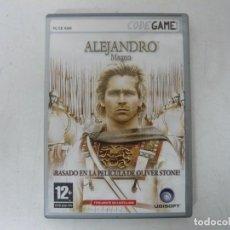 Videojuegos y Consolas: ALEJANDRO MAGNO / CAJA DVD / IBM PC / RETRO VINTAGE / CD - DVD. Lote 262934535
