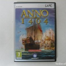 Videojuegos y Consolas: ANNON 1404 / CAJA DVD / IBM PC / RETRO VINTAGE / CD - DVD. Lote 262934710