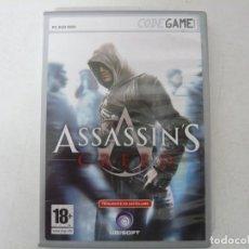 Videojuegos y Consolas: ASSASSIN'S CREED / CAJA DVD / IBM PC / RETRO VINTAGE / CD - DVD. Lote 262936275