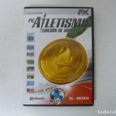 Videojuegos y Consolas: PC ATLETISMO - EDICIÓN ORO / CAJA DVD / IBM PC / RETRO VINTAGE / CD - DVD. Lote 262936465