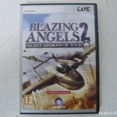 Videojuegos y Consolas: BLAZING ANGELS 2 / CAJA DVD / IBM PC / RETRO VINTAGE / CD - DVD. Lote 262937075
