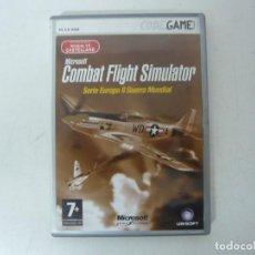 Videojuegos y Consolas: COMBAT FLIGHT SIMULATOR SERIE EUROPA II GUERRA MUNDIA / CAJA DVD / IBM PC / RETRO VINTAGE / CD - DVD. Lote 262937360