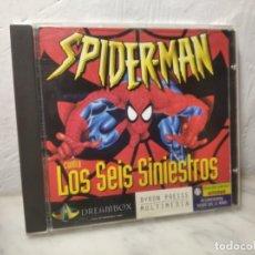 Videojuegos y Consolas: JUEGO PC (SPIDER-MAN CONTRA LOS SEIS SINIESTROS) DREAMBOX BYRON PREISS SPIDERMAN - ORDENADOR. Lote 262947080