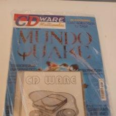 Videojuegos y Consolas: REVISTA INFORMÁTICA PC CDWARE N° 32 + 3 CD CURSO INGLÉS 9 - ENCICLOPEDIA MINERALES - ESPECIAL QUAKE. Lote 262947830