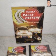 Videojuegos y Consolas: MICHELIN RALLY MASTERS - JUEGO PC (ORDENADOR) RACE OF CHAMPIONS - CANAL + MULTIMEDIA. Lote 262956915