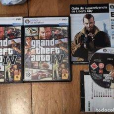 Videojuegos y Consolas: JUEGO PC GTA IV. Lote 263014805