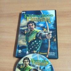 Videojuegos y Consolas: JUEGO DE PC COMPLETO - ROBIN HOOD DEFENDER OF THE CROWN. Lote 263075240