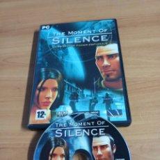 Videojuegos y Consolas: JUEGO DE PC COMPLETO - THE MOMENT OF SILENCE - MICROMANIA № 42. Lote 263076125