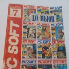 Videojuegos y Consolas: REVISTA INFORMÁTICA PC SOFT AÑO 1991 SELECCION 7 RETAPADOS N° 25-26-27-28. Lote 263197745