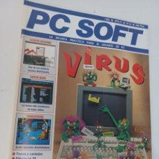 Videojuegos y Consolas: REVISTA INFORMATICA PC SOFT N° 34 AÑO 1992. Lote 263198205