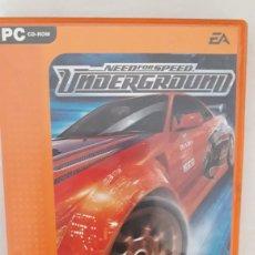 Videojuegos y Consolas: NEED FOR SPEED UNDERGROUND PC PAL ESP. Lote 263683470