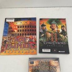 Videojuegos y Consolas: AGE OF EMPIRES EDICION COLECCIONISTA. Lote 264102185