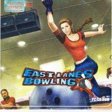 Videojuegos y Consolas: PC-CD ROM, FAST LANES BOWLING. Lote 266051583
