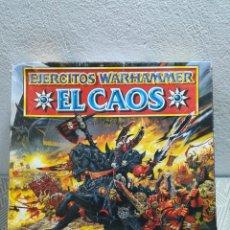 Videojuegos y Consolas: ANTUGO JUEGO PC. EL CAOS. LOS EJÉRCITOS WARHAMMER. NO ESTÁ COMPLETO. Lote 266265358