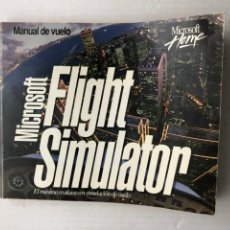 Videojogos e Consolas: MANUAL EN CASTELLANO MICROSOFT FLIGHT SIMULATOR 1 PC CD ROM. Lote 266590153