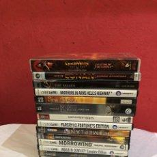 Videojuegos y Consolas: LOTE DE 13 MEJORES JUEGOS PC /CD/DVD/ ROM. VER LAS FOTOS. Lote 266605948