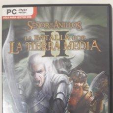 Videogiochi e Consoli: BATALLA POR LA TIERRA MEDIA 2 PC PAL ESP. Lote 268153174