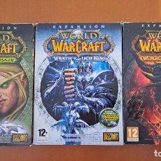 Videogiochi e Consoli: EXPANSIONES WORLD OF WARCRAFT. Lote 268276009