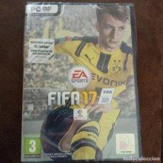 Videojuegos y Consolas: JUEGO PC FIFA 17 NUEVO SELLADO PRECINTADO. Lote 269003149