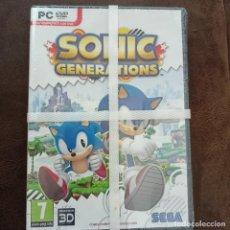 Videojuegos y Consolas: VIDEO JUEGO PC DVD SONIC GENERATIONS PRECINTADA. Lote 269003444