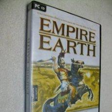 Videojuegos y Consolas: EMPIRE EARTH EDICION ORIGINAL JUEGO DE PC. Lote 269160103
