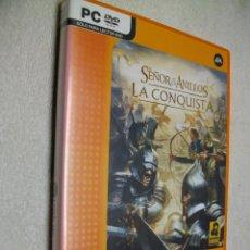 Videojuegos y Consolas: EL SEÑOR DE LOS ANILLOS: LA CONQUISTA JUEGO DE PC. Lote 269160308
