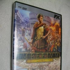 Videojuegos y Consolas: IMPERIUM CIVITAS JUEGO DE PC. Lote 269160358