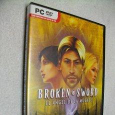 Videojuegos y Consolas: BROKEN SWORD JUEGO DE PC. Lote 269160583
