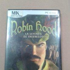 Videojuegos y Consolas: ROBIN HOOD LA LEYENDA SHERWOOD-JUEGO PC. Lote 269938133
