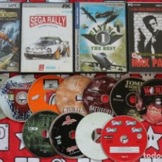 Videojuegos y Consolas: LIQUIDACION LOTE +10 JUEGOS ORDENADOR PC LEER DESCRIPCION. Lote 270245473