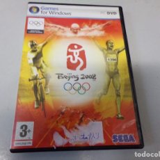 Videojuegos y Consolas: BEIJING 2008. PC DVD GAMES FOR WINDOWS. SEGA. Lote 270645713